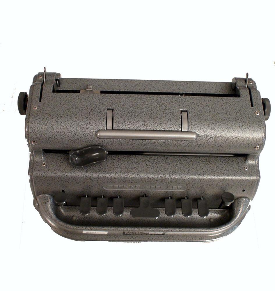 Perkins Braille Machine